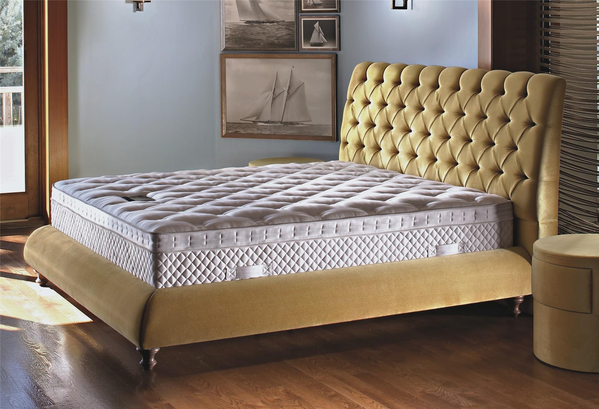 Yatsan Baroness Modern Upholstered Bed Head2bed Uk