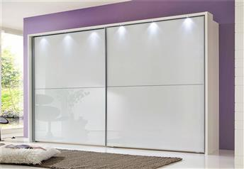 LINUS by Stylform - Glass Sliding Door Wardrobe - ALSO ALL MIRRORED
