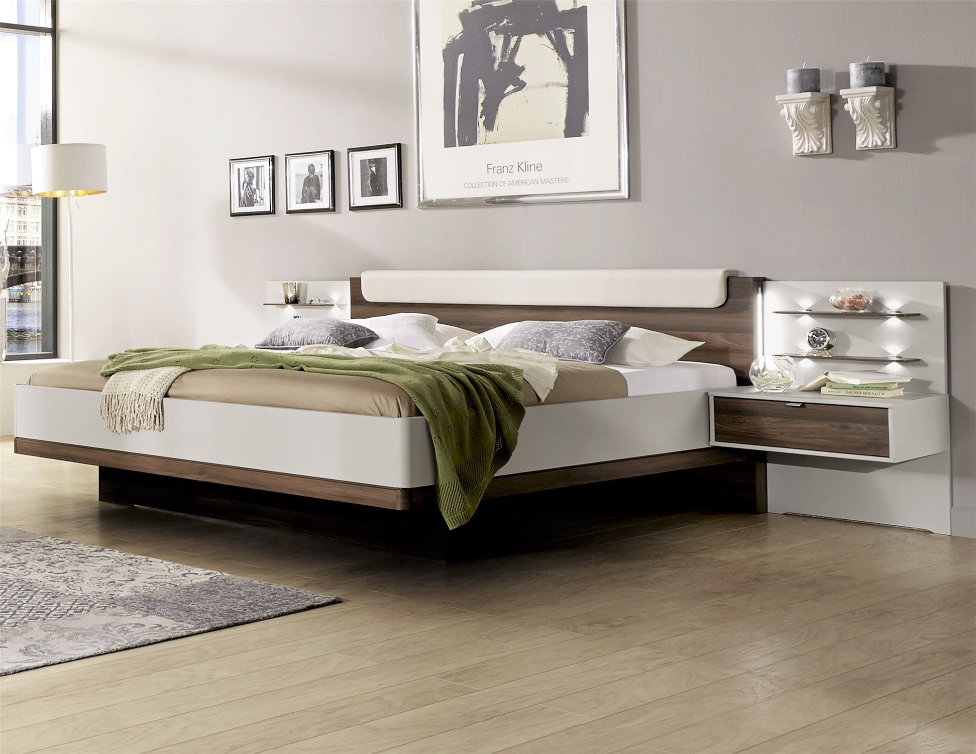 Contemporary designer beds hypnos by stylform for Contemporary super king bed