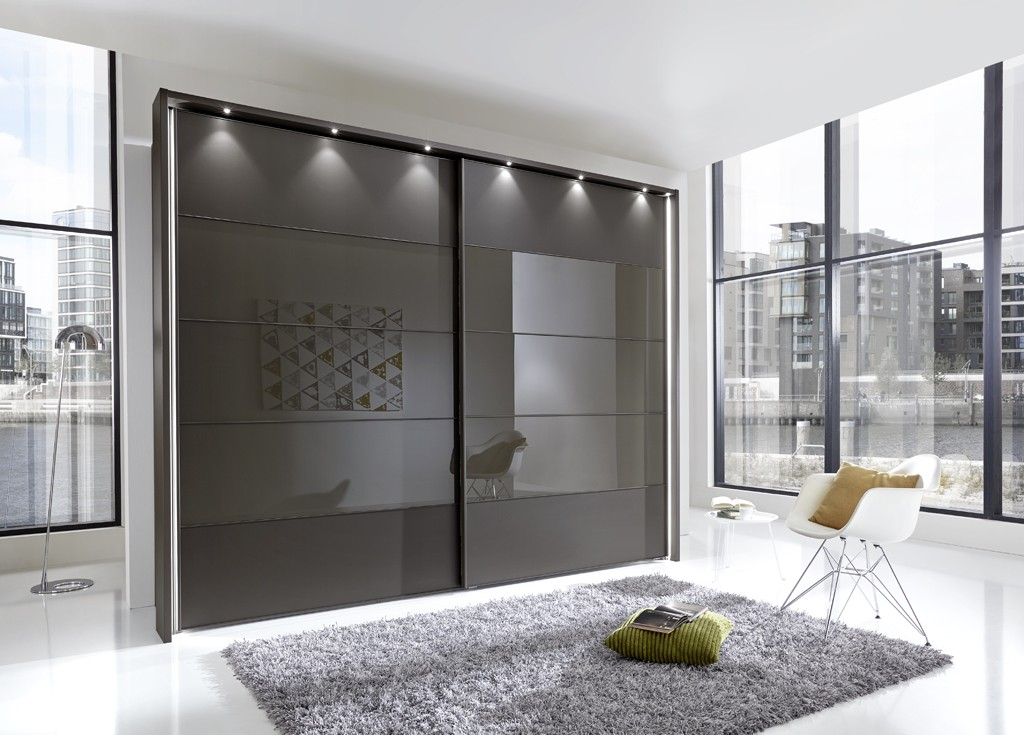 phoebe by stylform wood mirror glass wardrobe head2bed uk. Black Bedroom Furniture Sets. Home Design Ideas