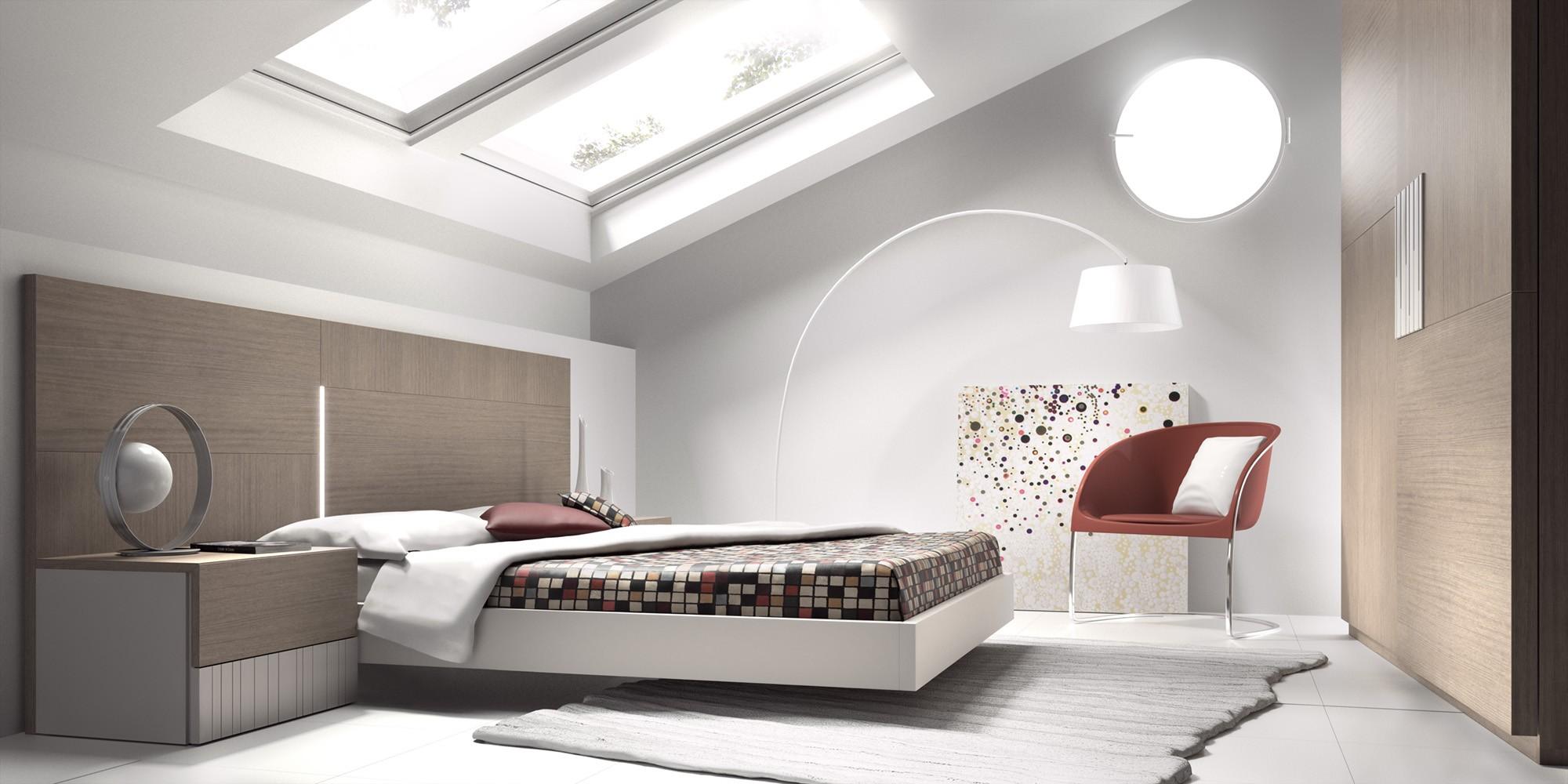Matrimonio Bed Uk : Guardia ona modern bed in wood veneer matt lacquer