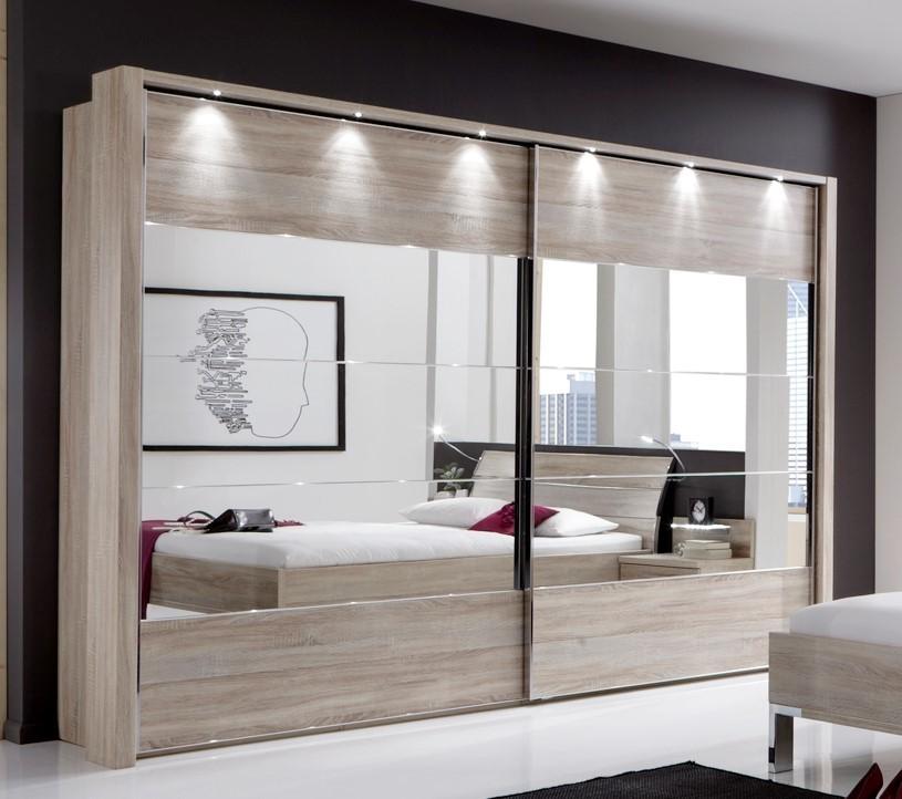 Mirror bedroom furniture set
