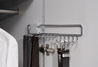 Pull-out Tie and Belt Rack
