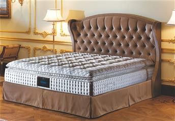 Yatsan CHEVALIER Classic Upholstered Bed