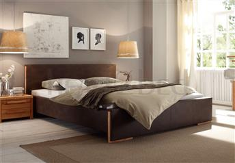 Hasena Rovena - Genuine Leather Modern Bed