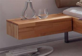 Hasena Caja - 1 Drawer Suspended Bedside table Solid Beech