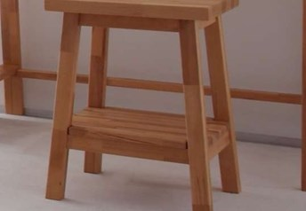 Hasena Ludo Stool Solid Beech / solid oak