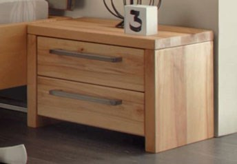 Hasena Cervo Rustic Solid Beech Bedside table