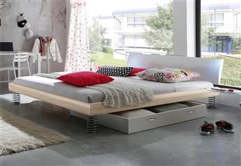 Hasena Jump Ripo Real Leather Bed