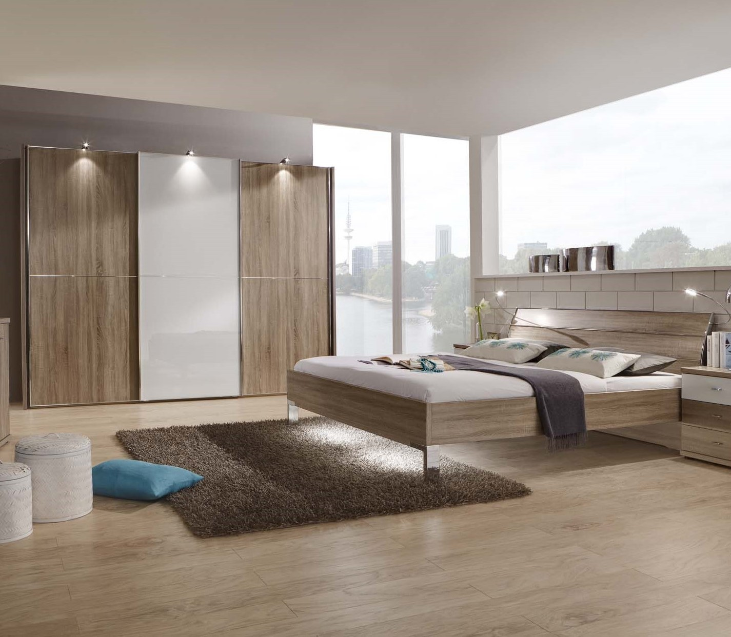 Bedroom Furniture Sets Bedroom Furniture And Decorating Ideas Bedroom Wall Art For Girls Bedroom Paint Schemes Colors: Contemporary Bedroom Furniture Sets » SAMARA By Stylform
