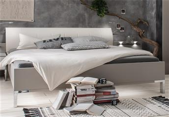 MARS by Stylform - Modern bed with faux leather headboard