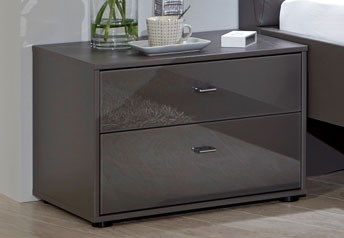 Stylform Mars - 2 Drawer Bedside Table