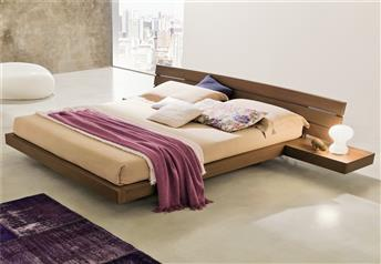 Veneran Italia ALOA Solid Birch & Oak Bed