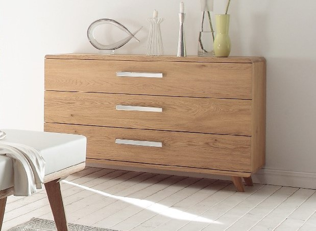 Bedroom Furniture Amp Accessories 187 Hasena Sigma Solid Oak Xl Chest Of Drawers