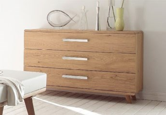 Hasena Sigma - Solid Oak XL Chest of Drawers