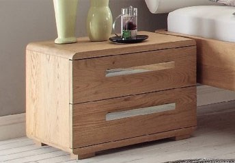 Hasena Noma - Bedside Table Solid Oak