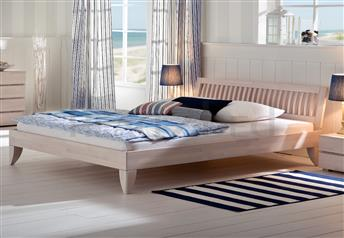 Hasena Cima Stecca - Solid Beech Modern Bed