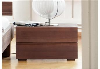 Hasena Dupla - 2 Drawer Solid Wood Modern Bedside Table