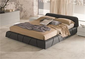 Veneran Italia SFREE Real Leather Modern Bed