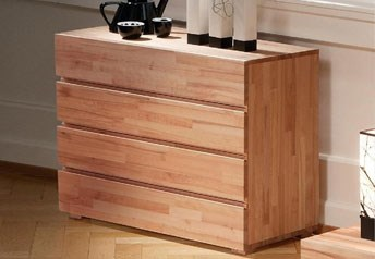 Hasena Lovara - Solid Wood Modern Chest of Drawers