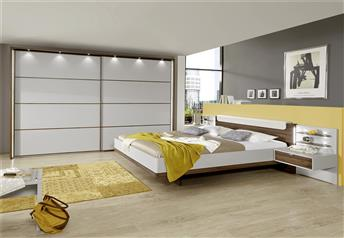 Hypnos by Stylform - Champagne & Noce Finish Bedroom Set