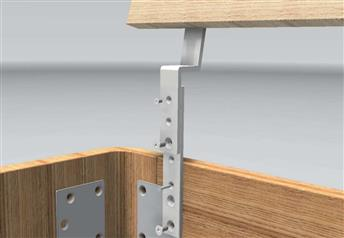 Hasena Head-Plus Extension Brackets for Headboards