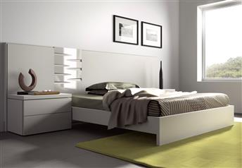 Guardia - DANA in Lacquer Matt / High Gloss Modern bed