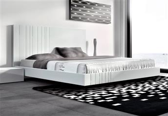 Guardia - AROA in Lacquer Matt / High Gloss Modern bed