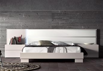 Guardia - NORMA in Lacquer Matt / High Gloss Modern bed