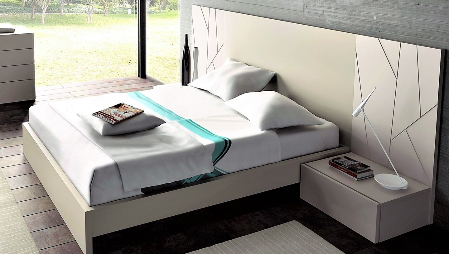 guardia ada contemporary floating bed