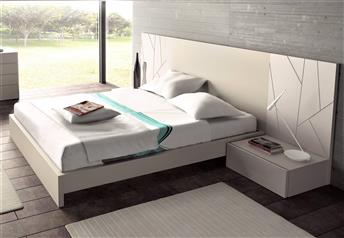 Guardia - ADA Matt Lacquer or High Gloss Modern Bed