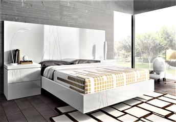 Guardia - GALA High Gloss or Matt Lacquer Modern Bed
