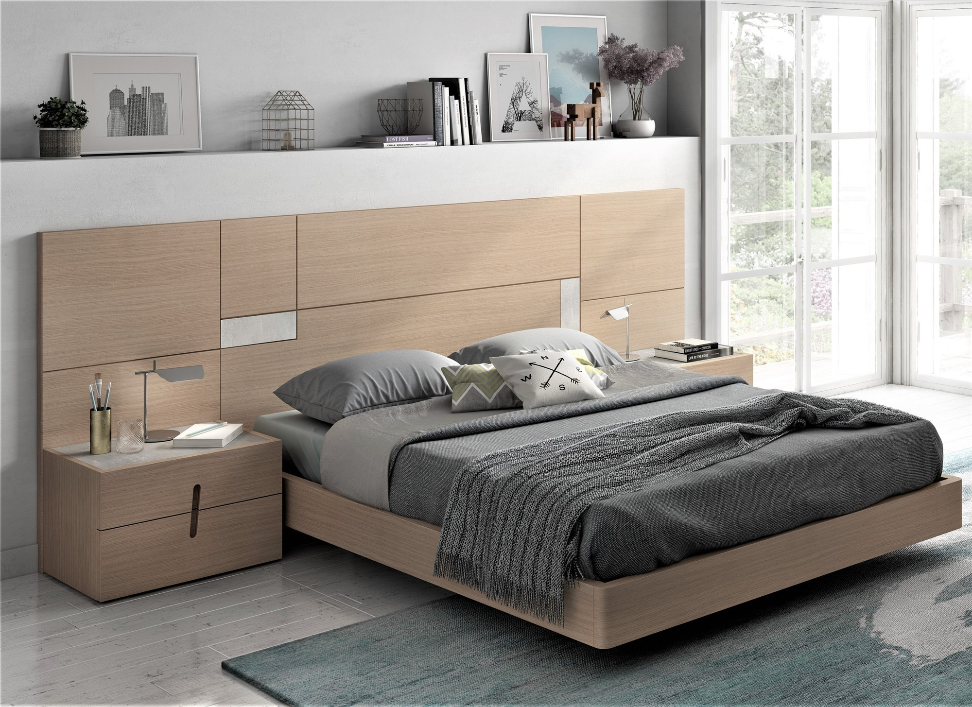 . Guardia ASTREA Contemporary Floating Bed
