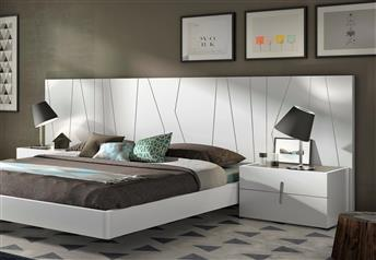 Guardia - DORMIO Matt or High Gloss Lacquer Modern Bed