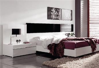 Guardia - MARBELLA High Gloss Modern Bed