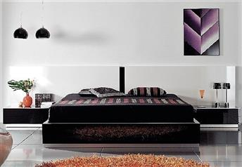 Guardia - CADIZ Matt or High Gloss Modern Bed