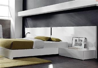 Guardia - CADIZ B Matt or High Gloss Modern Bed