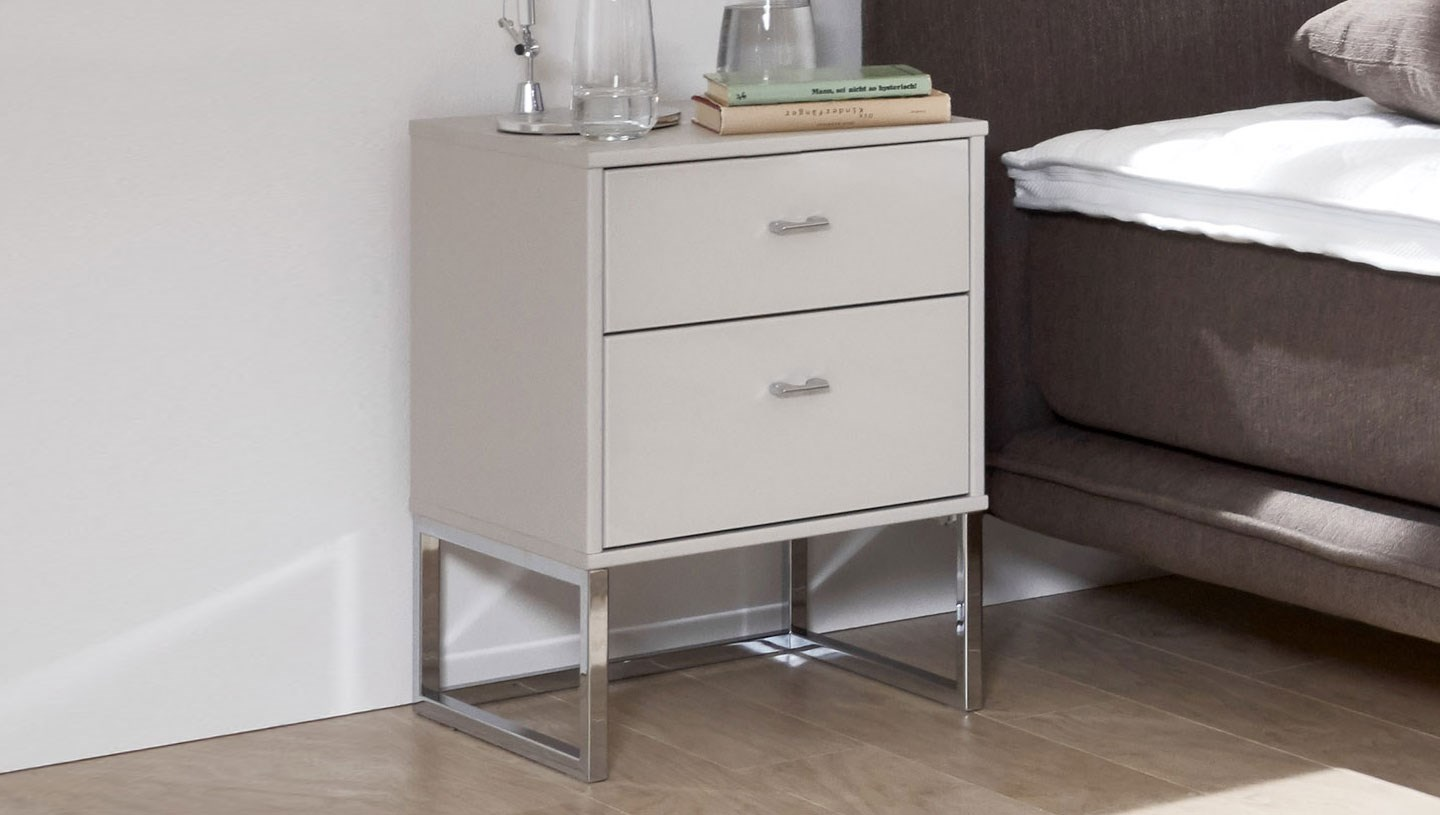 stylform eros bedside tables 2 or 3 drawers 40 or 60 cm wide