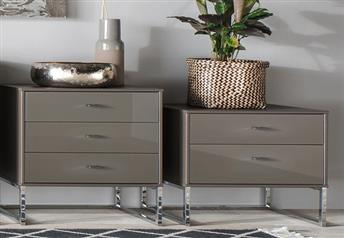 Stylform EROS Bedside Table - 2 or 3 drawers - 40 or 60 cm wide