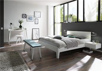 Hasena Xylo Vola Solid Walnut or Solid beech Modern bed