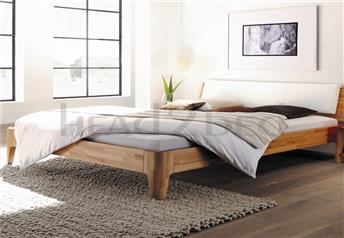 Hasena Xylo Varus Solid beech or Solid Walnut Modern Bed