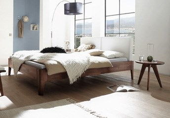 Hasena Xylo Cemoa Solid beech or Solid Walnut Modern Bed
