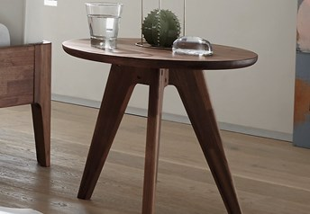 Hasena Circo - Solid Beech, Walnut or Oak Stool
