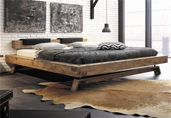 Hasena Bloc Stabil Inca Nakio Character Solid Oak Bed in *Vintage Finish*