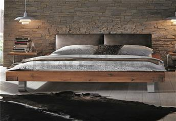 Hasena Mico Aosta Dorma Character Solid Oak and Real Leather bed