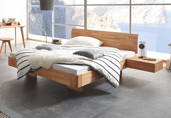 Hasena AIRON Vola Modern Solid Wood Floating Bed