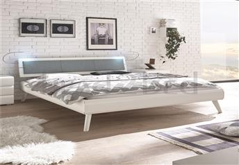 Hasena Masi Nuetta Modern bed with Optional Real leather Headrest
