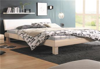 Hasena Cantu Ripo Modern Bed with real leather