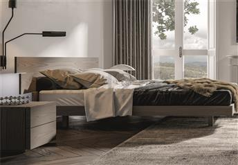Veneran Italia SELF Solid Birch, Oak or Ash Veneer Designer Bed
