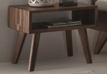 Hasena Jaca Solid Beech / Oak or Walnut Bedside table